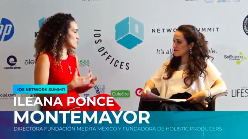 """Panel    """"Happiness, Well-being and Productivity @Work""""    at    IOS Summit.    Ileana Ponce host by IOS Offices."""