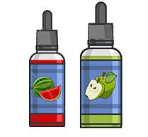 E-cigarette juice -