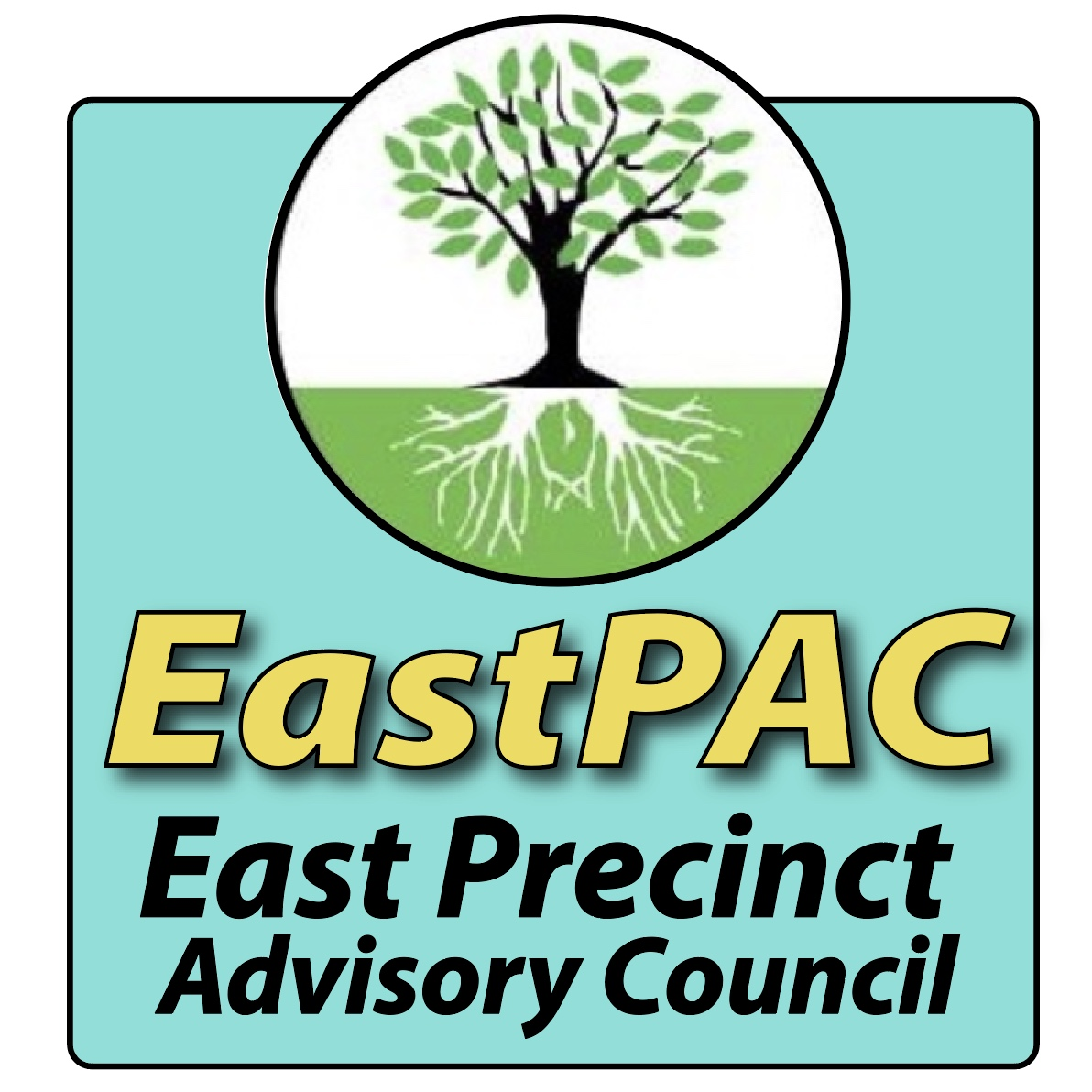 Community Partnerships - EASTPAC (East Precinct Advisory Council), A volunteer community organization that provides a forum to resolve public safety priorities; evaluate, advocate and facilitate strategies that reduce crime and improve life quality, for the East Precinct, actively partnering with law enforcement and other entities to address barriers to these outcomes. Open public meetings, held the fourth Thursday of each month, are attended by citizens and community stakeholders and law enforcement command staff to discuss and resolve public safety and life quality concerns.