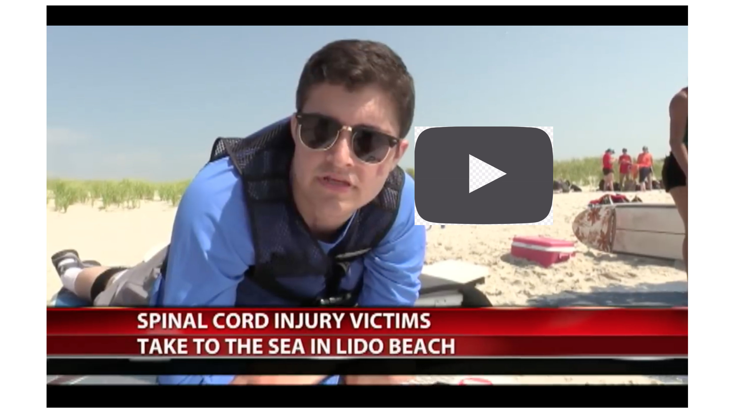 One of our newest mentors, Jack Gerard, surfs for the first time at  Empower Spinal Cord  2018. Click the thumbnail to watch his intervie