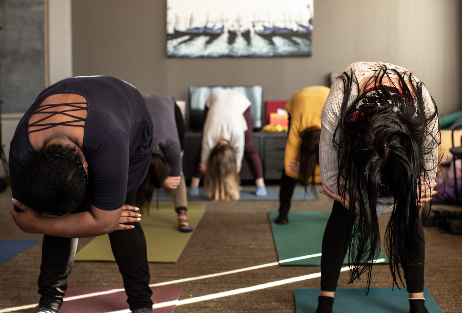 MOVEMENT/YOGA/DANCE THERAPY   Through modality, patients can experience the body as a source of information and satisfaction rather than the focus of unremitting conflict. Through kinesthetic sensing, patients can learn to attend to, identify, and even experience feelings and bodily sensations previously avoided. This group promotes relaxation and a more positive body image and greater awareness of how physical appearance is not the most important factor related to body image.