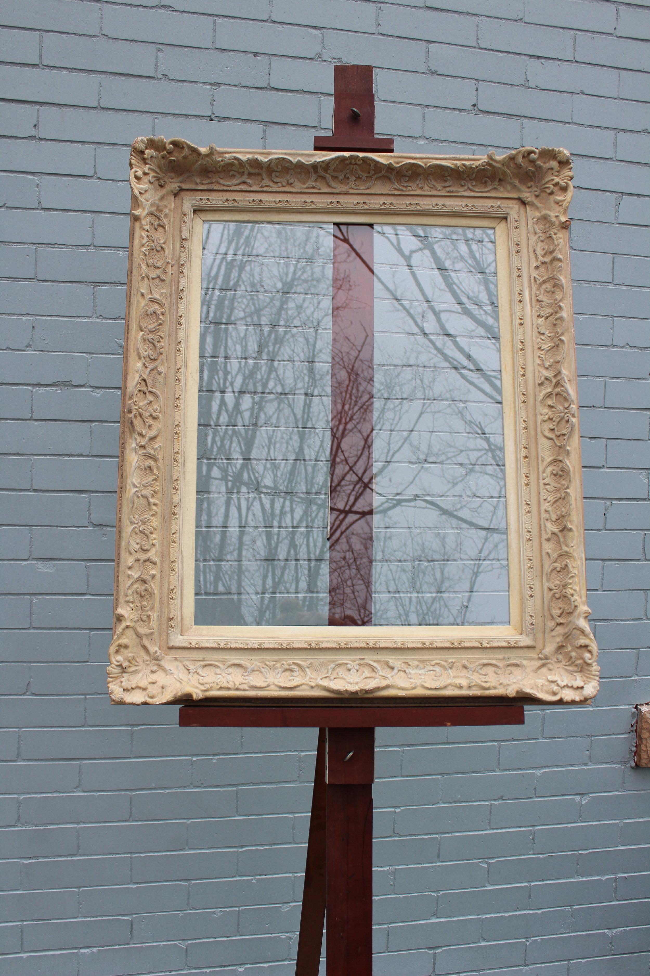 """Glass: 24 x 18  Frame: 32"""" x 26.5"""""""