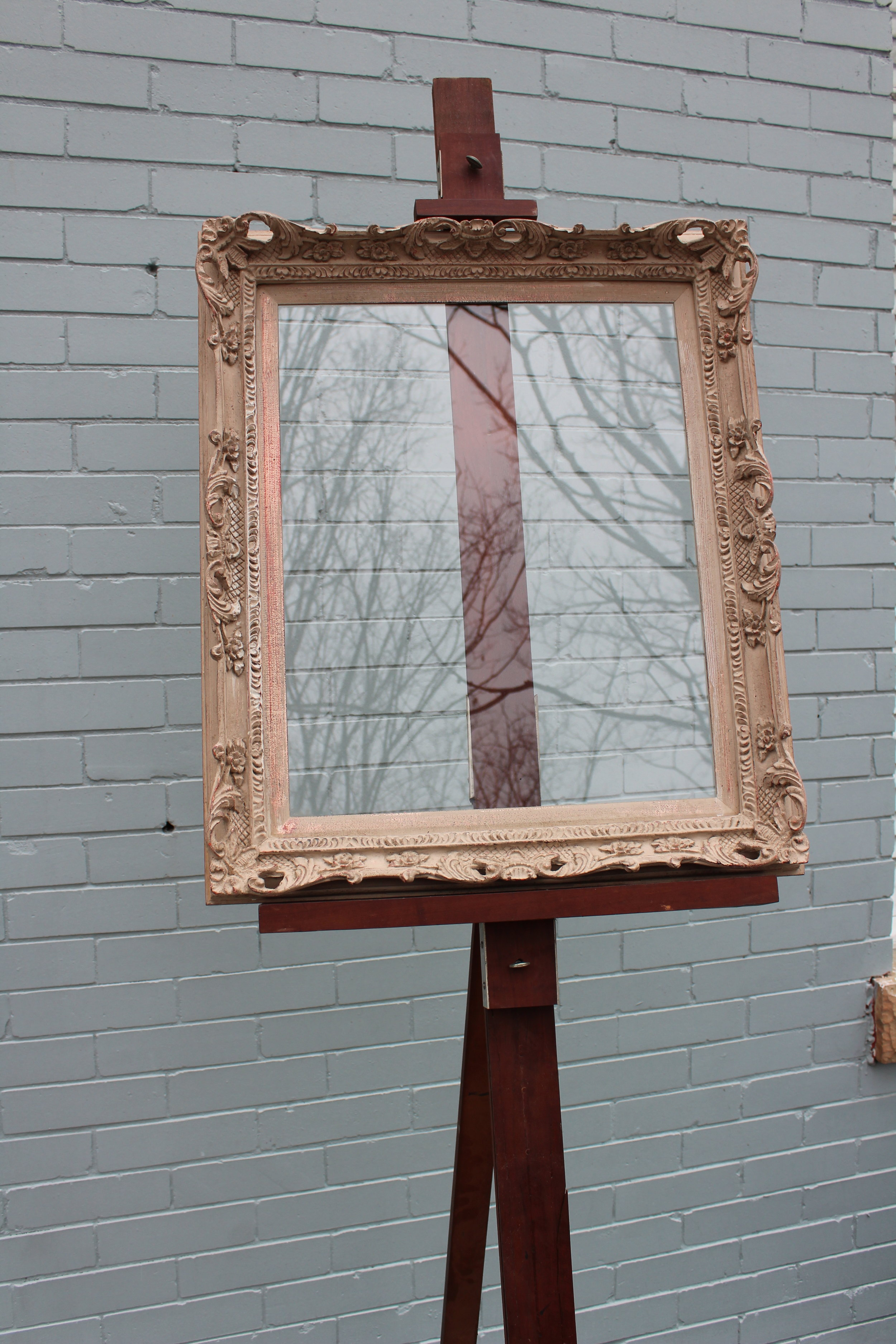 Glass: 20 x 16 Frame: 25 x 22