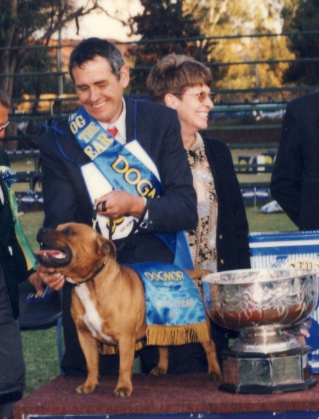 On the podium! Johannesburg 1999.