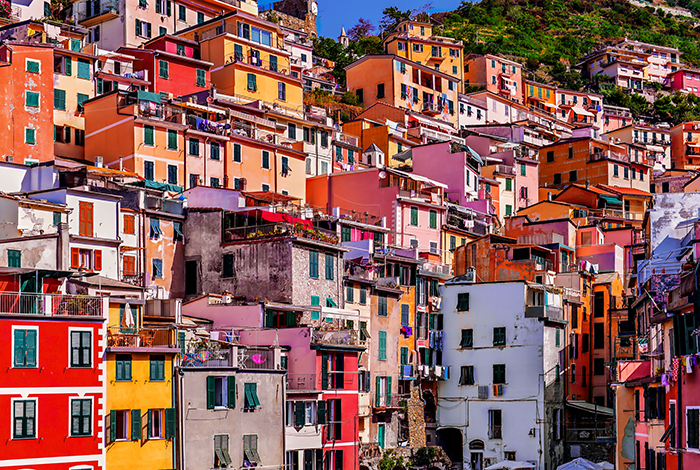 Cinque Terre, Italy - All the colours that make up the rainbow, Cinque Terre is…