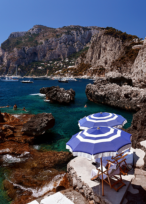 Capri, Italy - Indulge in the luxury that is Capri. An air of opulence combined…