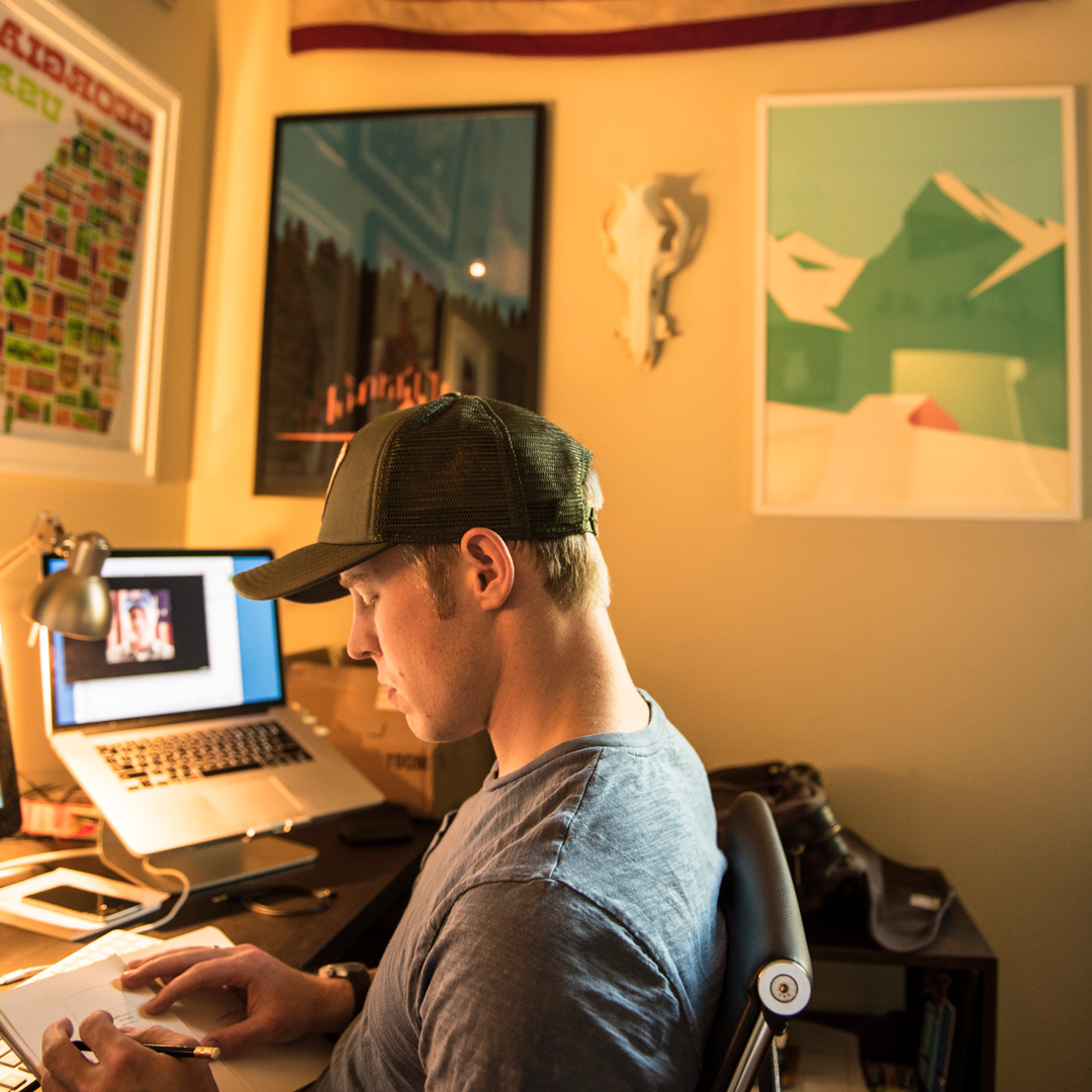 Gettin' it done at  NewFire Media  back in the day.