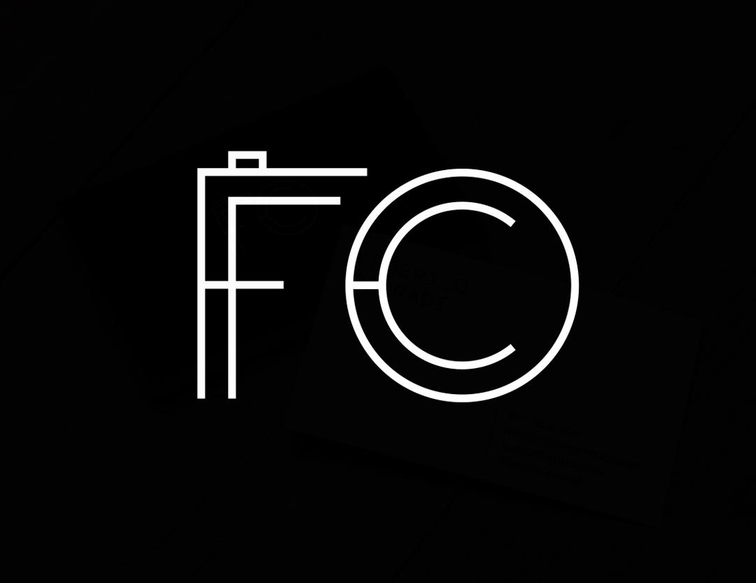 Federico Corradi Photographer Logo and Business Card