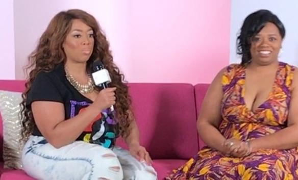 Ashley Stewart Pink Couch Interview 2017