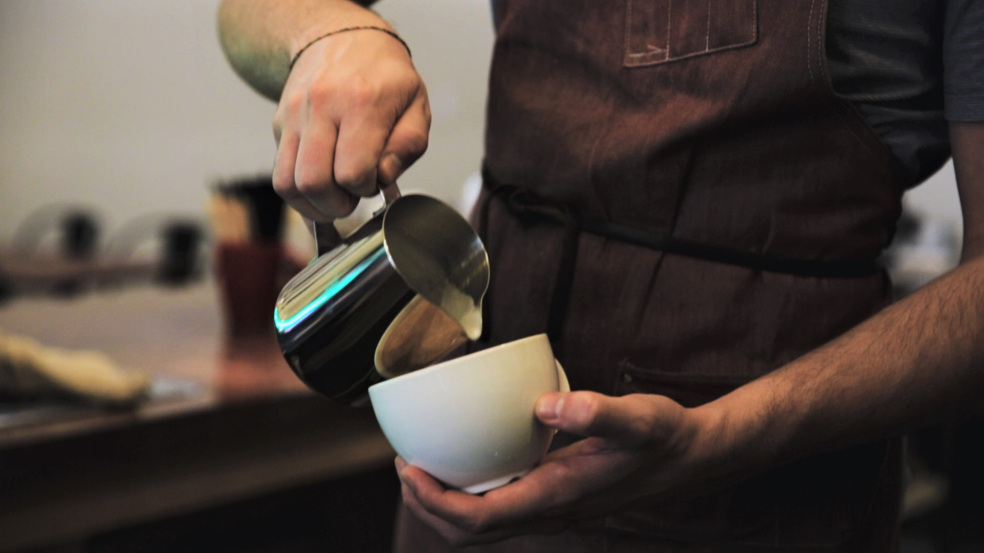 """""""We really put an emphasis on craft coffee""""."""