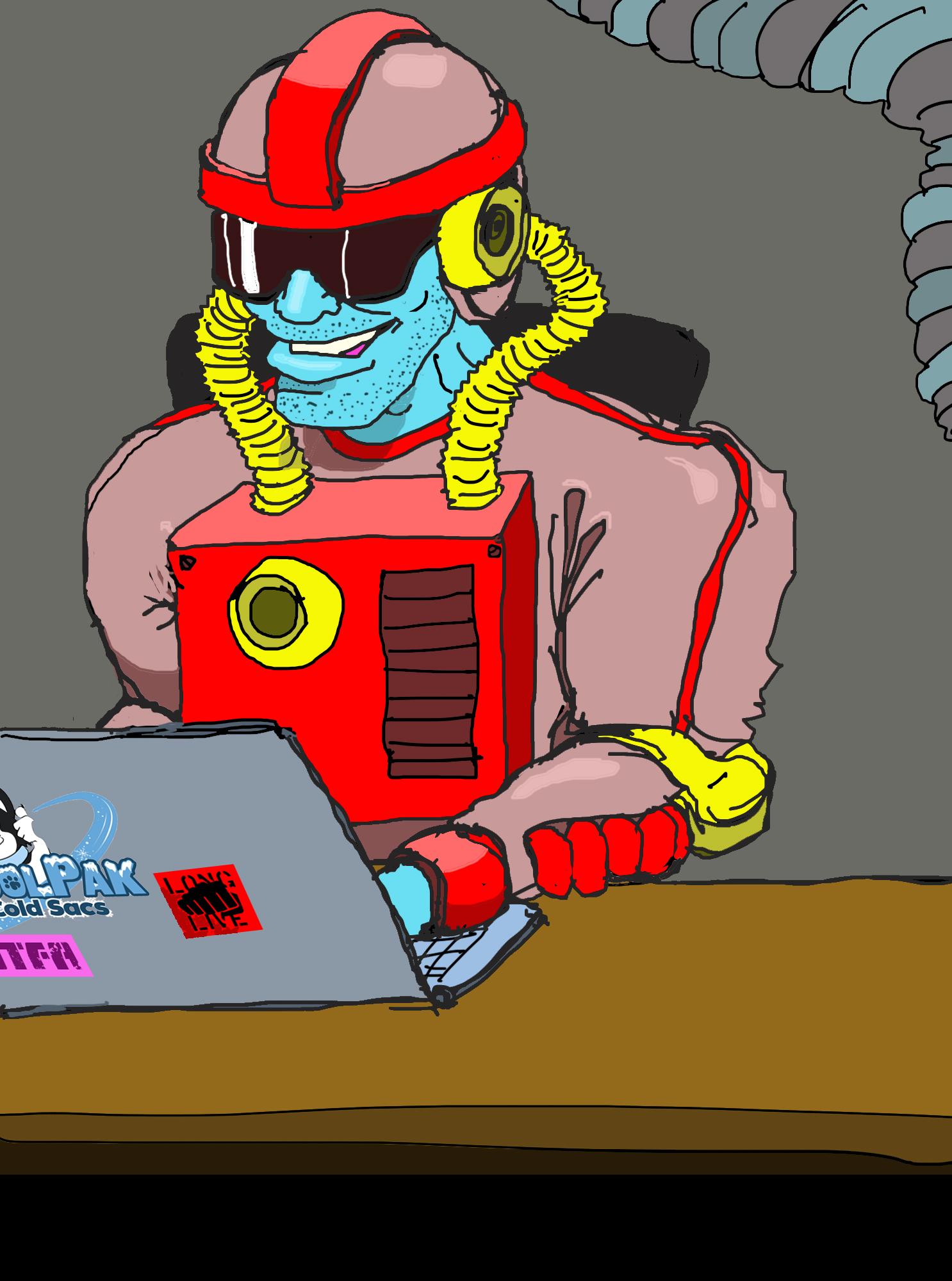An artist's rendering of Rebel Captain Hark Tartigast