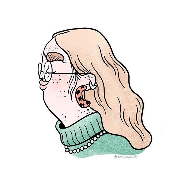 the skin ur in 🍓🍓🍓🍓 . . #illustration #acne #skincare