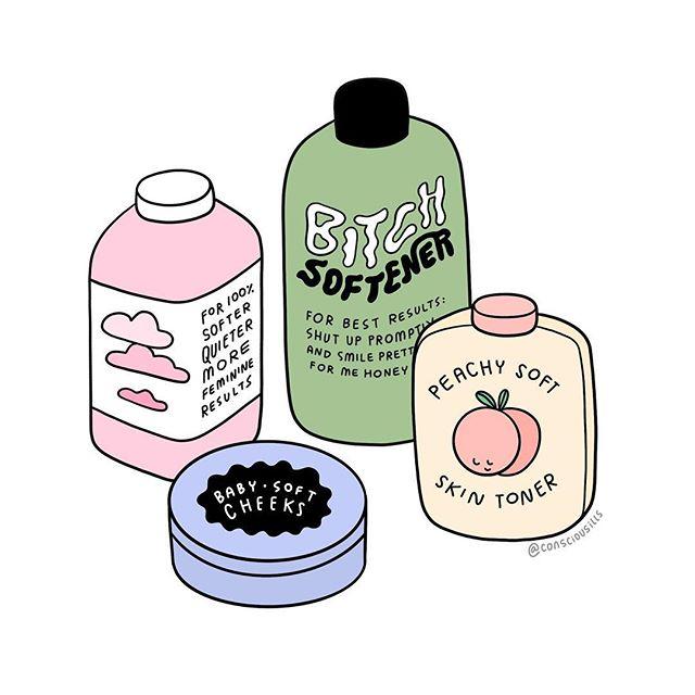 everyone luvs a soft feminine lass all natural ingredients: 100% bullshit
