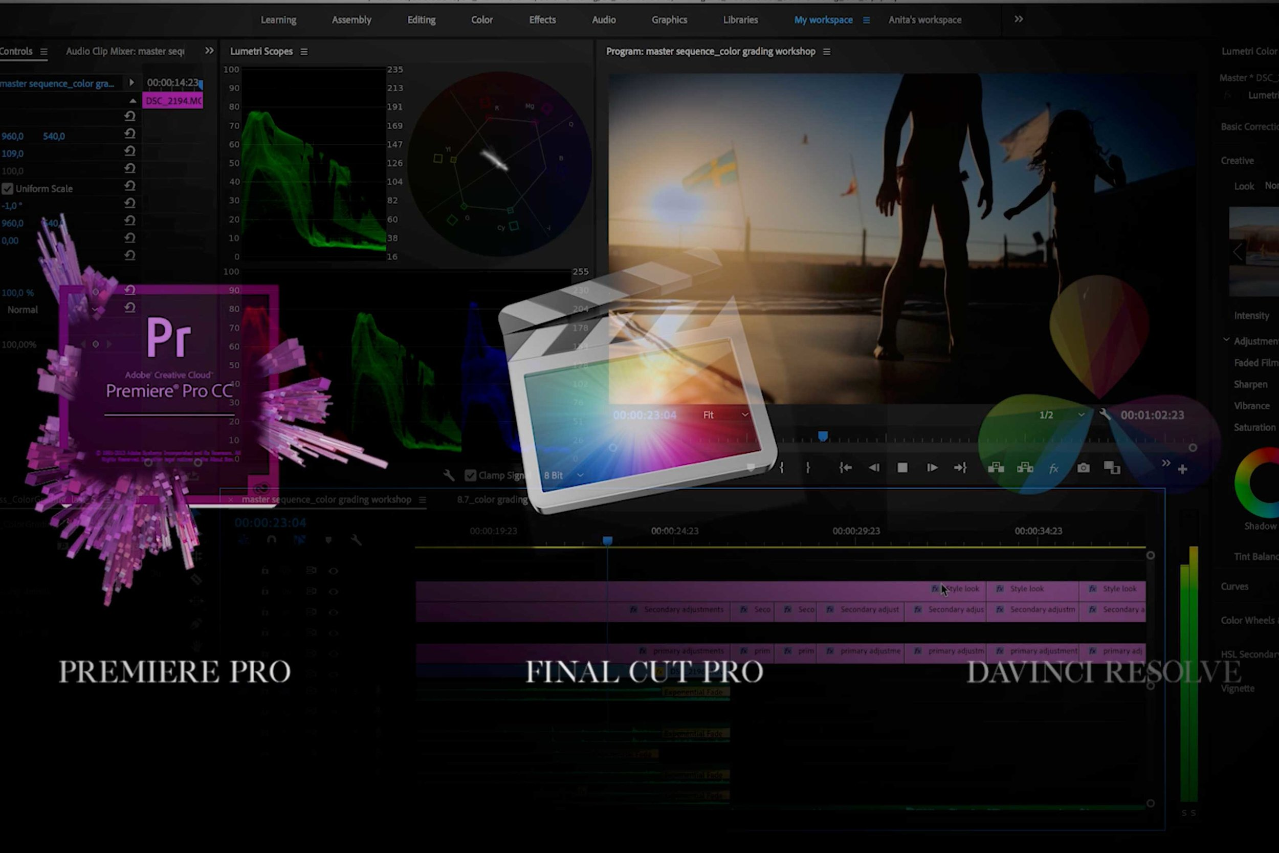 These tips can be applied across a number of popular video editing software, from Premiere Pro to Final Cut Pro & DaVinci Resolve.