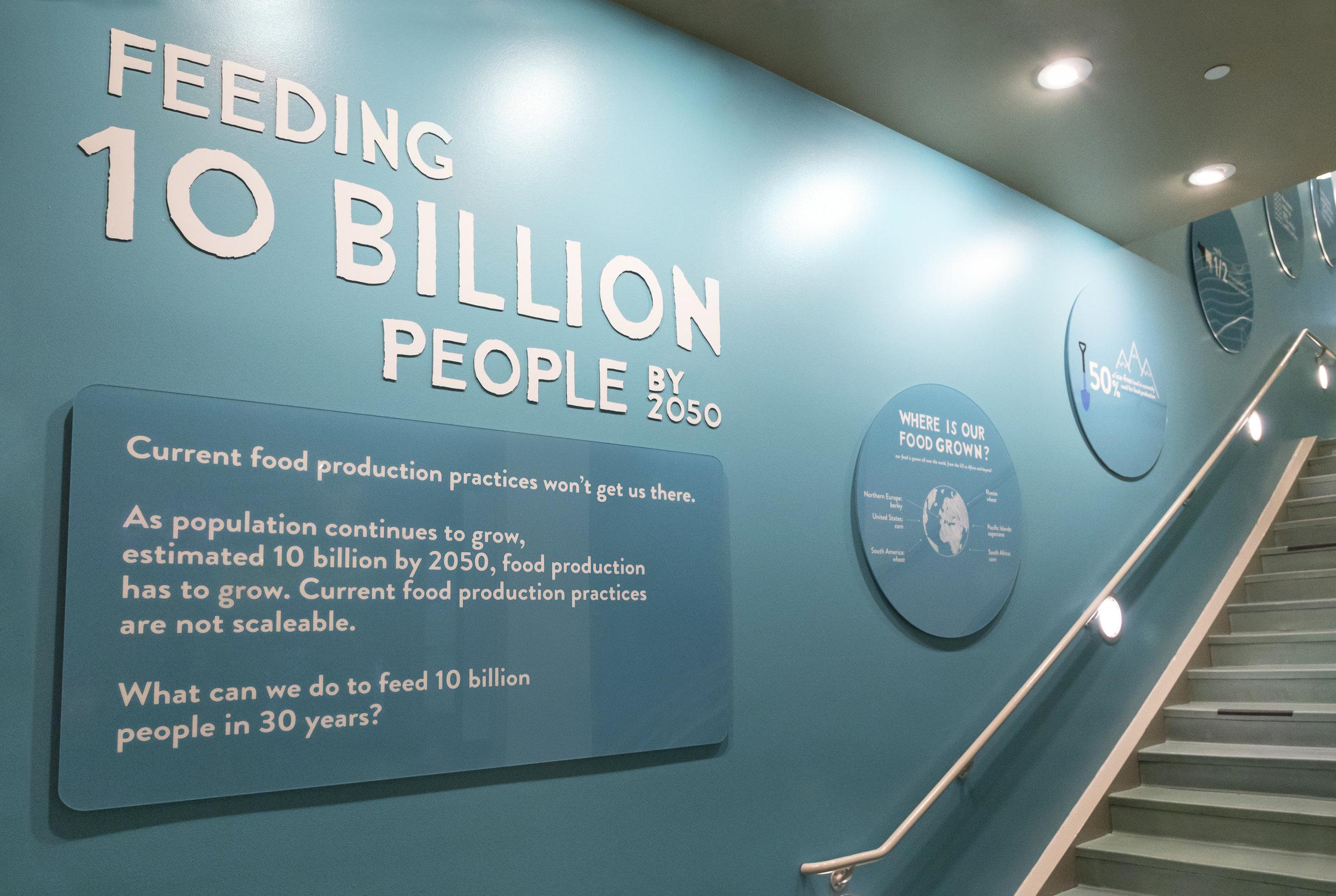 Feeding 10 Billion (at the Aquarium of the Pacific)