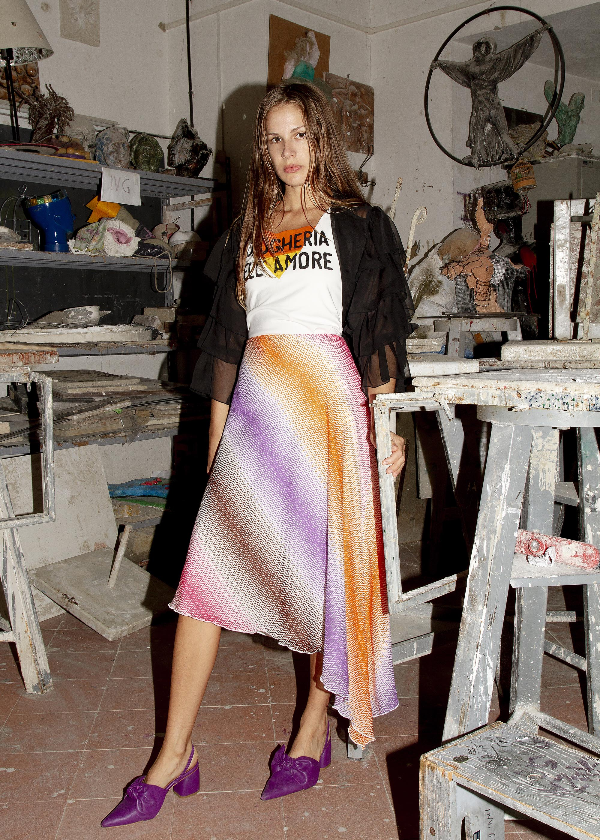 Photography by  Maxwell Finch  Fashion by  Putu Kresnanda  Model  Tania Anjani