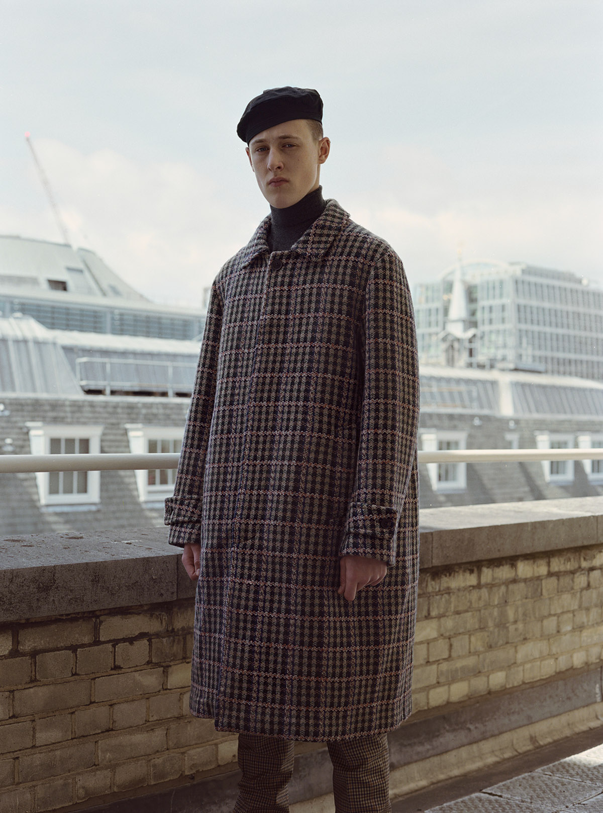 Photography by  Nick Thompson  Fashion by  Artyom Shaligin  Hair and Makeup Artist  Enzo Volpe  Model Felix Edwards
