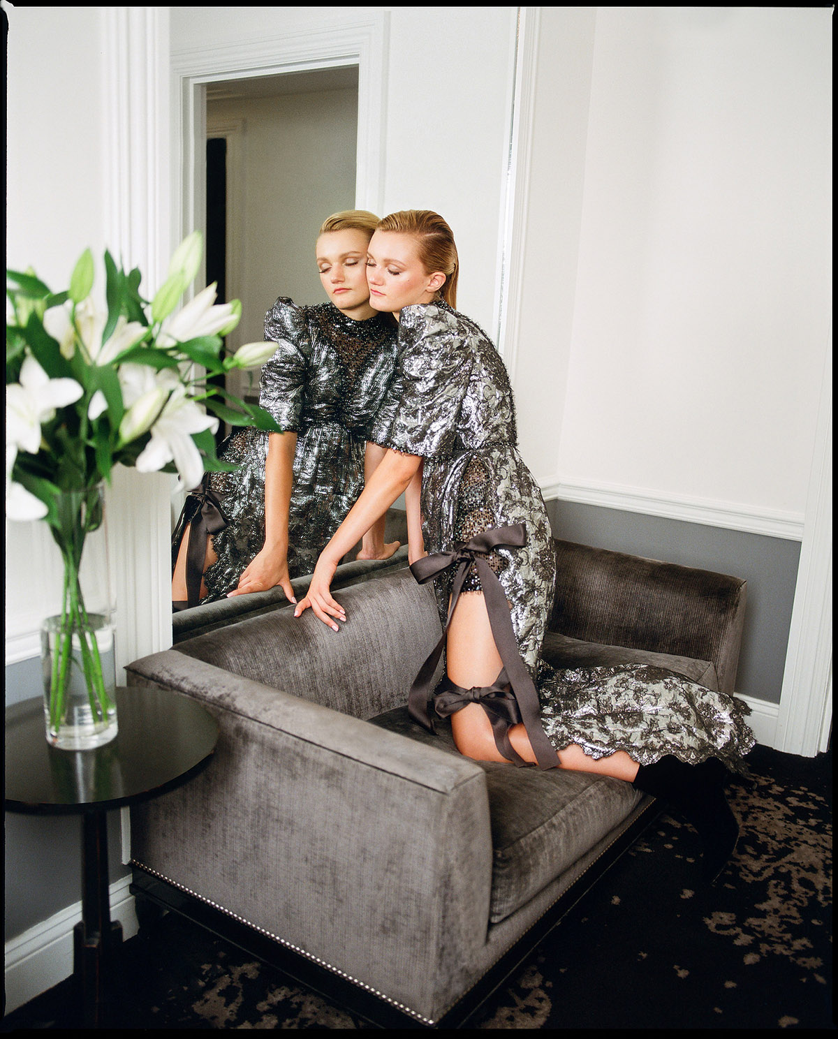 Photography by   Cesar Love Alexandre     Fashion by     Esteban Pomar     Produced by   Jaime Aguilera   MUA by   Natalia Mejia     Hair by     Yasu Nakamura   Model   Peyton Knight     at     New York Model Management