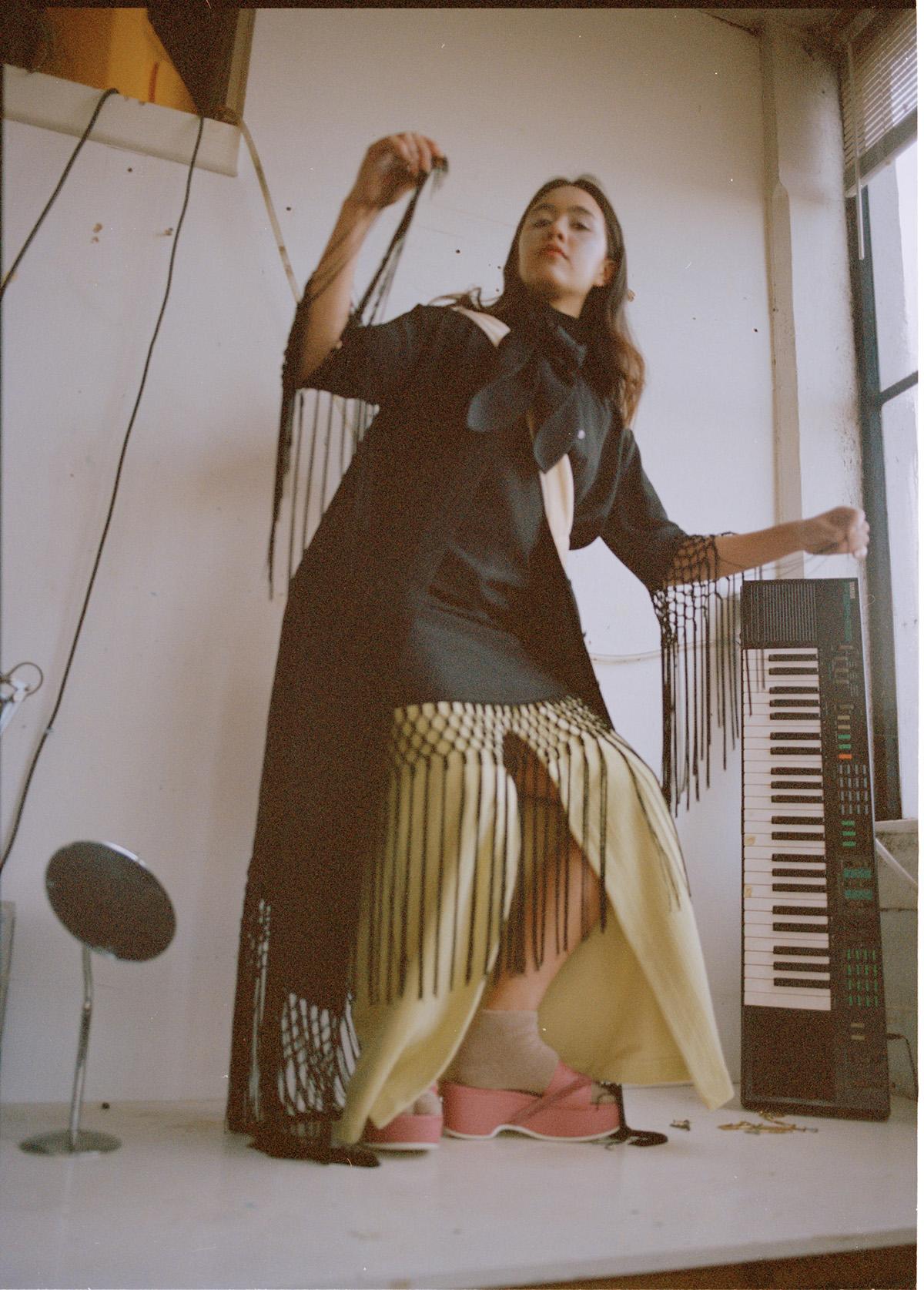 Dress  Esau Yori  Skirt & socks  Baserange  Shoes  Stylist's own