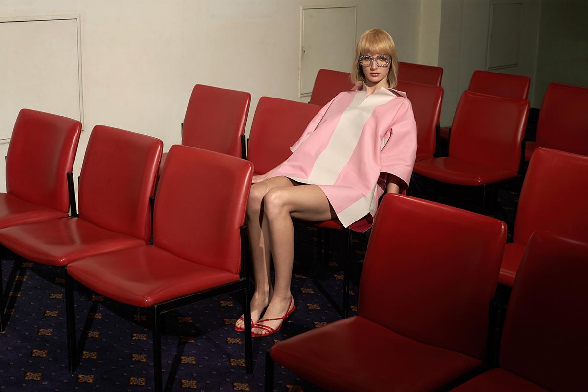 Dress  Marni  Shoes  Zara  Glasses  Poppy Lissiman