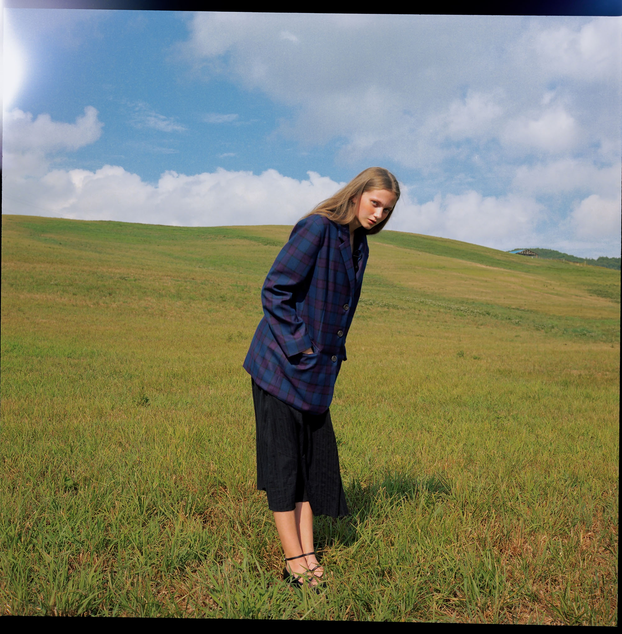 Photography  Joanna Legid  Talents  Dinah  Styling & Production  Anna Baur  MUA  Victoria Reuter  shot for the GIRLBOSS issue of  Blonde Magazine