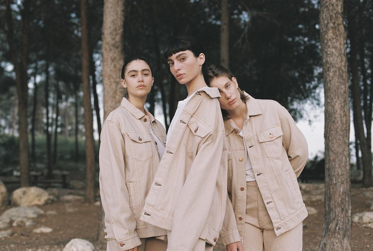 Photography by   Merav Ben Loulou     Fashion by   Ksenya Filkov     MUA   Roza Shwartsman     Talents     Dana Almut Roessler   ,    Noga Komar     and     Ella Mosseri
