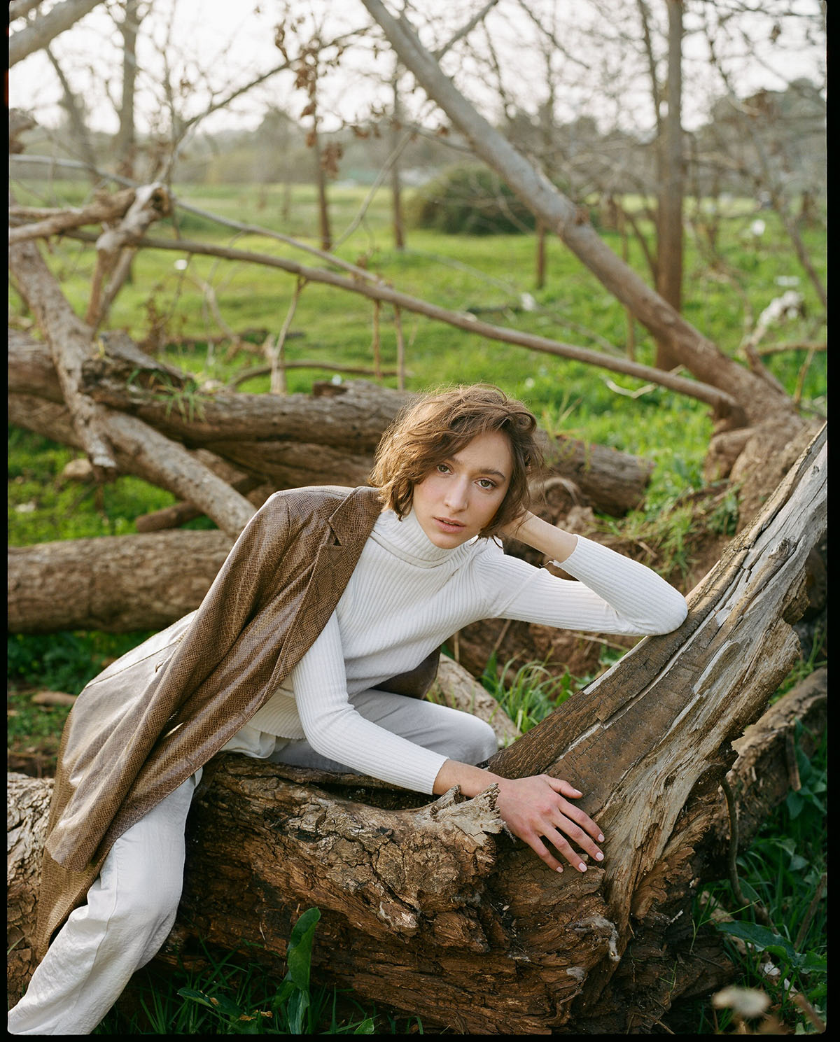 Shirt  Gong  Pants  Adva Aharon  Jacket  Zara  Shoes  Scoop