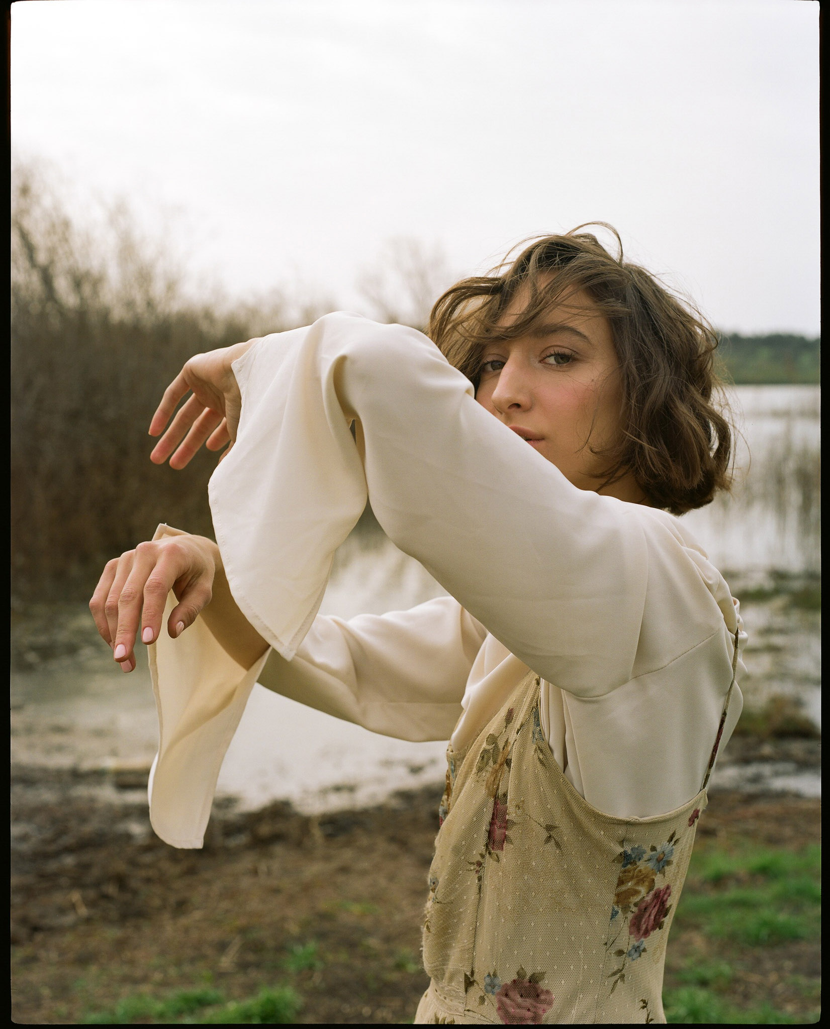 Jacket  Crazy Line  Dress  Renuar  Jeans  Zara  Shirt  Adva Aharon  Shoes  Scoop