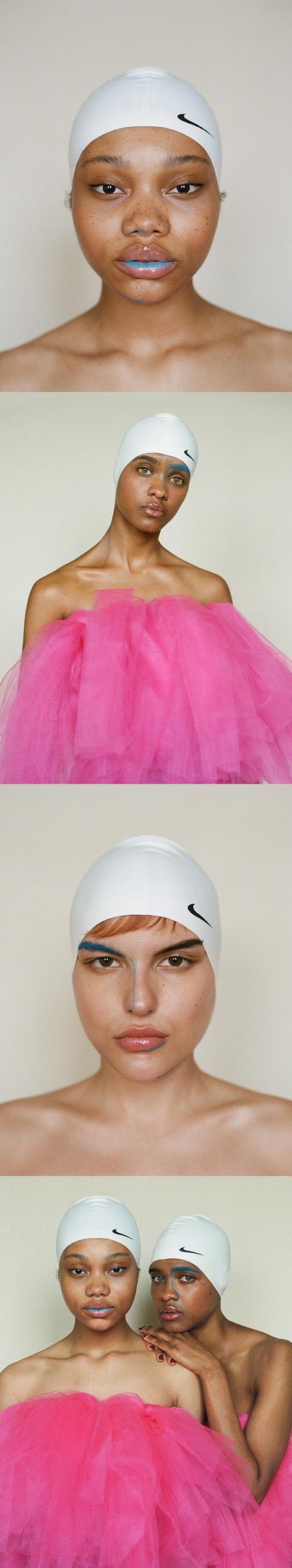 Photography by   Travis Matthews     MUA     Mimi Quiquine     Models   Casandra   ,    Tef Gorrin   ,    Mecca Allah