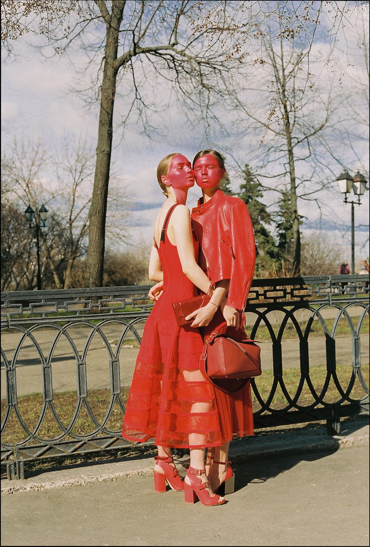 Photography by   Sherban Lupu     Art Direction and Fashion   Kati Garbuz   Talents     Ellie Gabitova     and     Regina Skoroletova