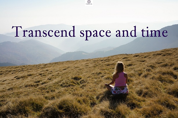 Here comes 6 simple exercises which help you to transcend space and time, to center in the Present Moment and even to reach enlightenment