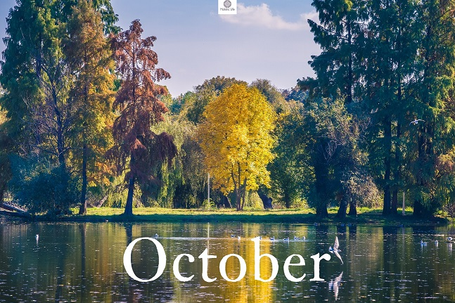 October is the month of emotional and spiritual maturity; of accepting others exactly as they are.