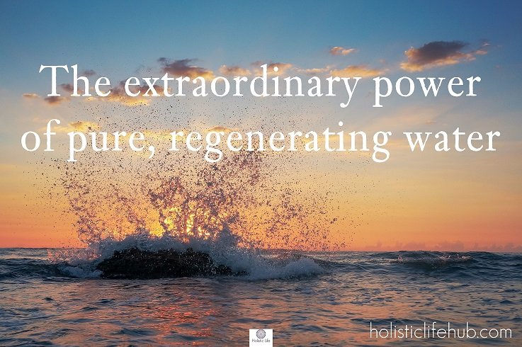 It is good to come into contact with the energy of water, which has a great adaptability. This fluid element, which is giving life, but it could be also destroying, has a huge power to sustain us.
