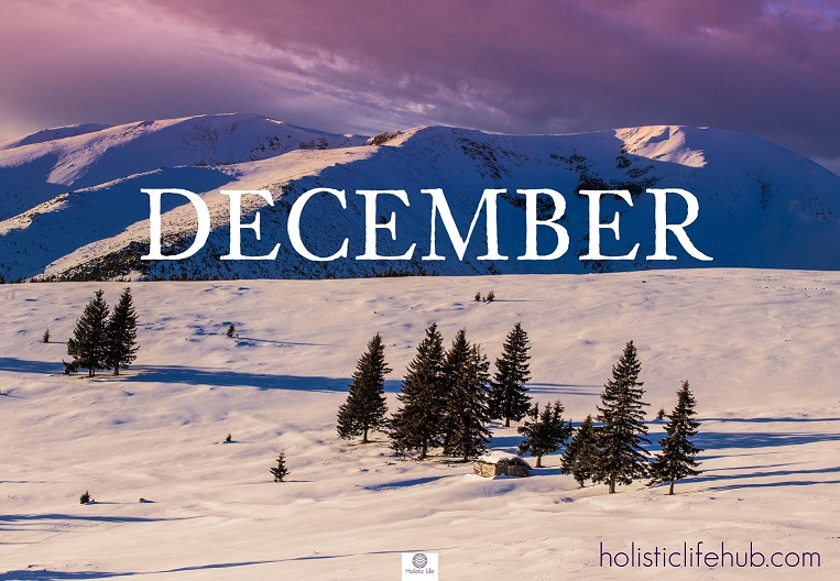 Winter - The Divine Nourishment that Comes from God. Winter represents the end of the spiritual annual journey. This is the time for making a final count of our achievements and progress on the path of self-knowledge. December - The regeneration, the rest and the dreams