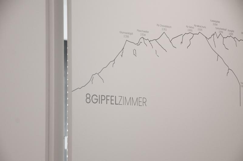 8-GIPFELZIMMER  Sehr helles Eck-Einzelzimmer mit Tageslicht-Bad, mit TV