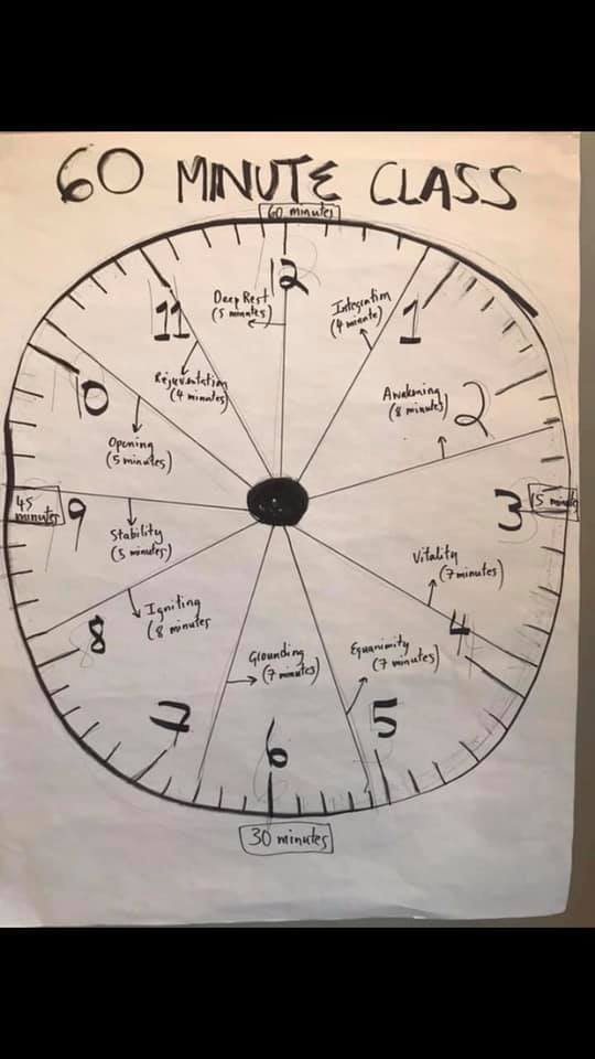 Make Your Own Baptiste Journey Into Power Sequence Clock Timer Sophie Sanders Empowered Yoga Living Blog