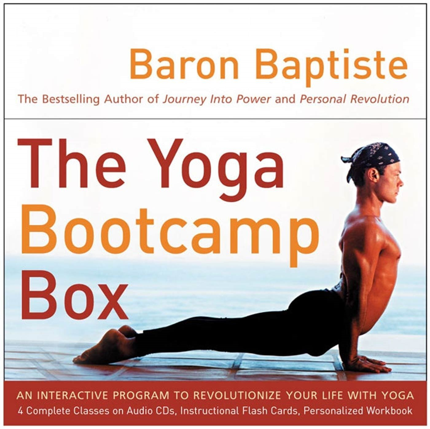 - The Yoga Bootcamp Box: An Interactive Program to Revolutionise your Life with Yoga 2004