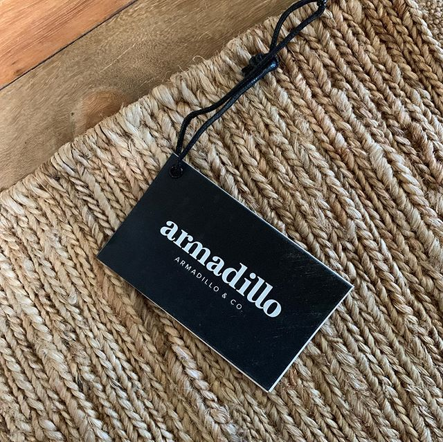 • Perfect way to start the week - installing some beautiful Armadillo & Co rugs #a_life_with_style