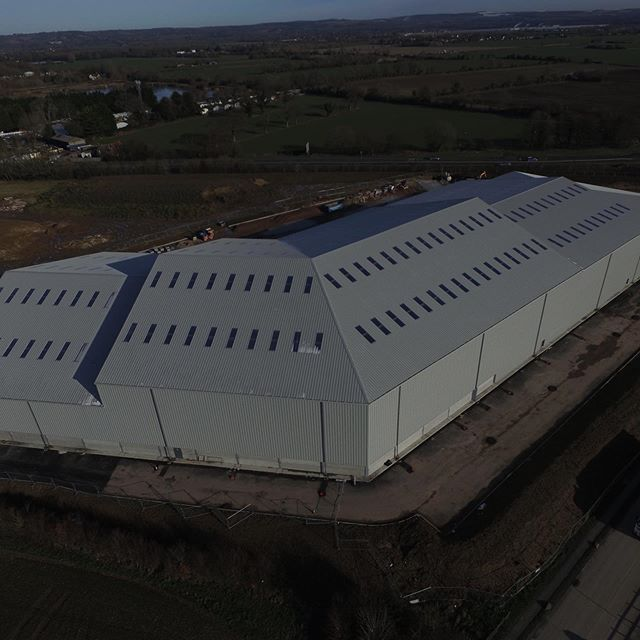 What a difference 2 months makes! Our new plant in Chichester! #newoffice #excitingtimes #manufacturing #processing #production #madeintheuk #birdfood #bartsbirdfood