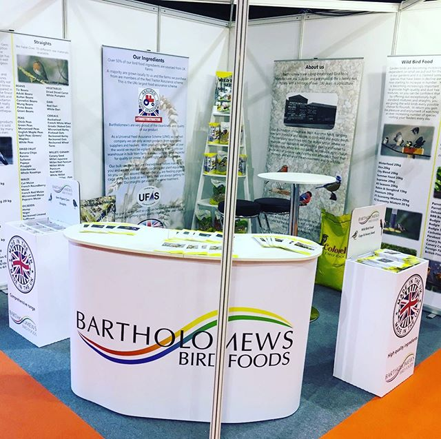 Why not pop and say Hello to Mark and Dwayne at stand H23 at PATs Telford.  #bartsbirdfood #colonels #wildbirdfood #ukmade #bartsagri #tradeshow #patstelford