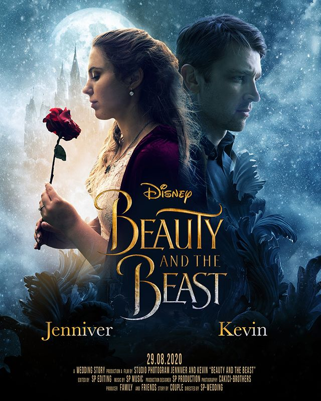 """A dream is a wish your heart makes."" Save the Date Poster of Jenniver and Kevin Check out our other movie poster designs https://www.studio-photogram.com/save-the-date-film-poster . . . . . #beautyandthebeast #movieposter #posterdesign #weddingposter #savethedate #savethedateposter #weddingideas #weddinginspiration #studiophotogram #hochzeitsfotograf #gelsenkirchen #gelsenkirchenwedding #bridetobe2019 #posterdesign"