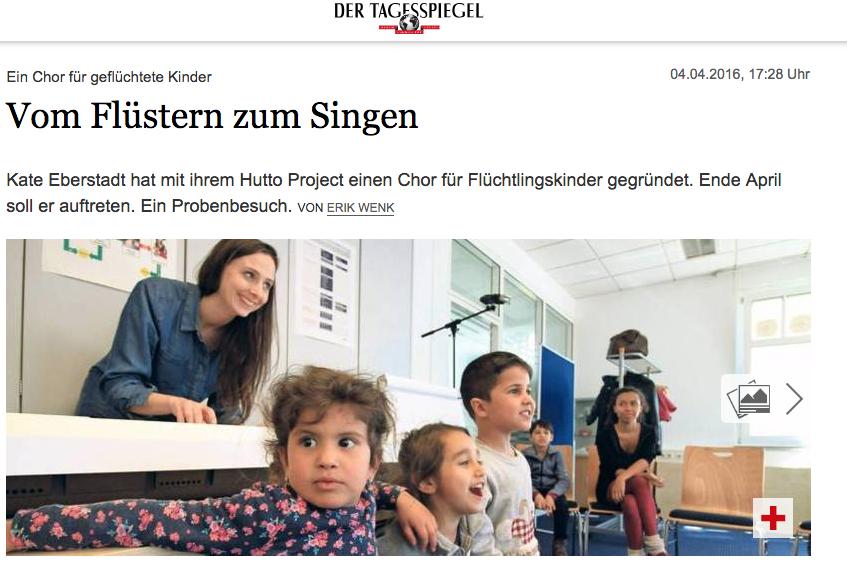 """""""Vom Flüstern zum Singen.""""      Der Tagesspiegel"""