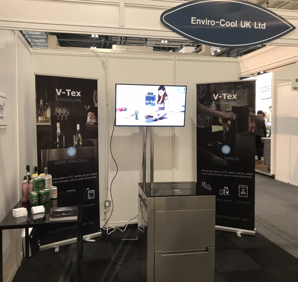 Enviro-Cool Stand at Hotelympia 2018