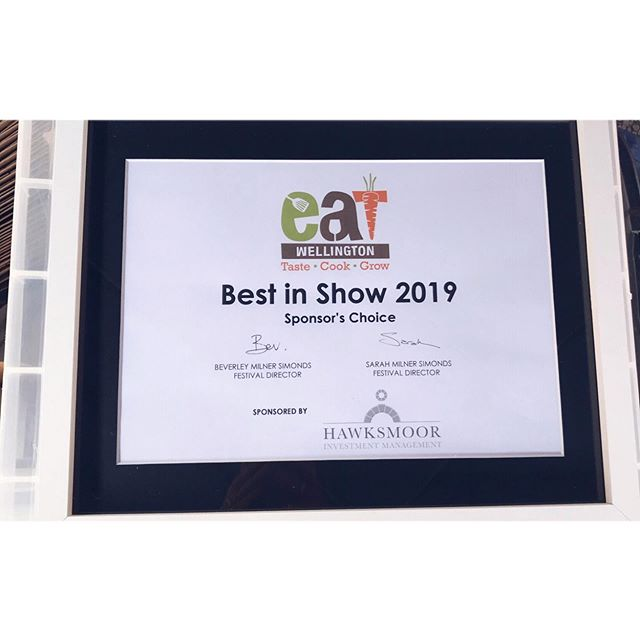 Thank you for the award @eatfestivals  Genuinely couldn't be more chuffed ☺️ . . . Harth Truffles has been growing slowly over the last year and it's my little pocket of me out there in the world. It's only small and I have no idea where it will go but I like that. A little bit of recognition means the absolute world so I wanted to say a big thank you to everyone who's tried, bought and (hopefully) enjoyed our truffles. I love making them and apologies for endlessly fannying around with packaging. . . . . . #thankyou #eatfestivals #bestinshow #chuffed #smallbusiness #independent #ladyboss #somerset #harthtruffles #allaboutthepackaging