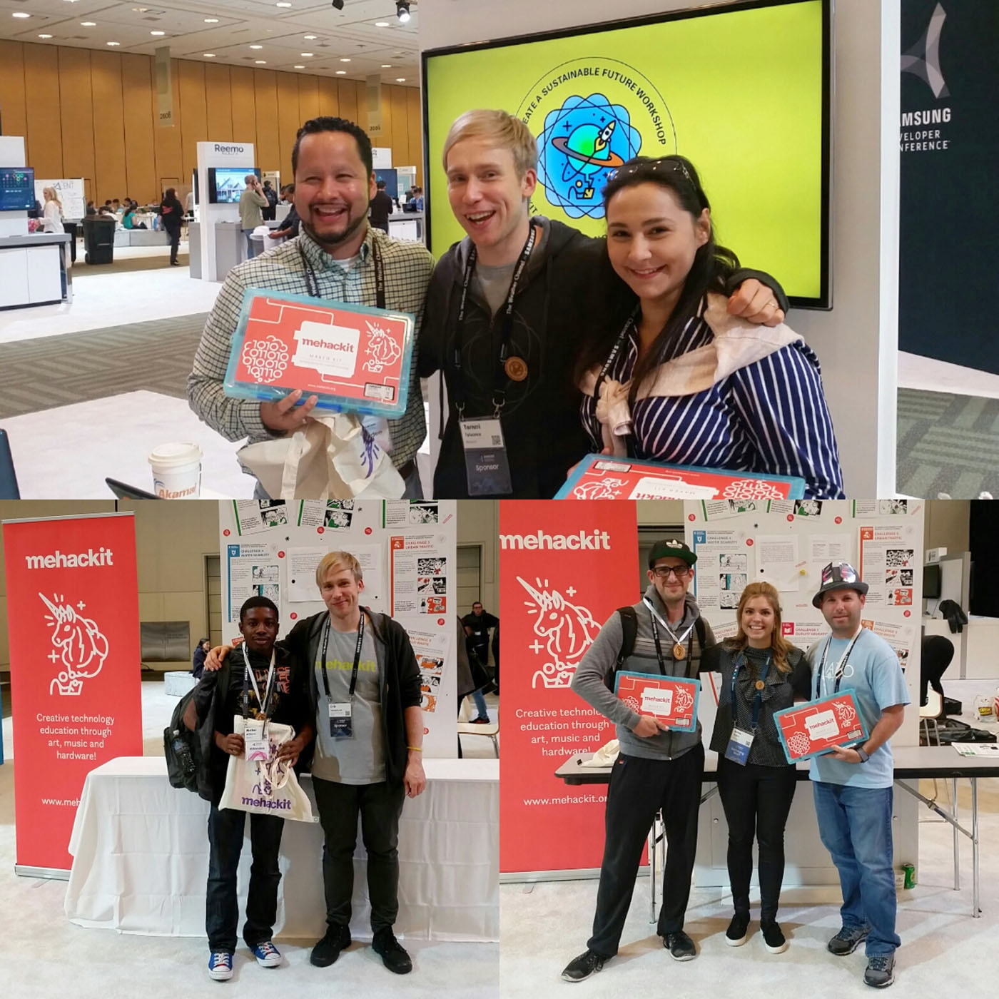 Each day teams behind the best prototypes won Mehackit Maker kits!