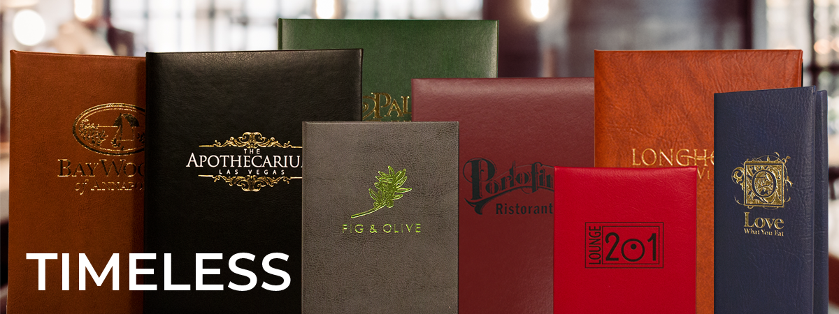 Our most classic covers made of timeless faux leather materials in a wide variety of textures and hues. Covers : Oakmont, Harley, Tamarac.