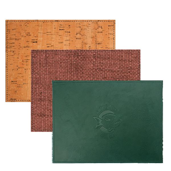 HORIZON PLAcemats - premium sewn plACEMATs (LEATHER CLASSICS)PREMIUM SEWN PLACEMATs (TEXTURED NON-TRADITIONAL)PREMIUM SEWN PLACEMATS (ELEGANT TEXTURED)HARDBOARD TABLEMATSVINYL PLACEMATSVINYL COASTERS