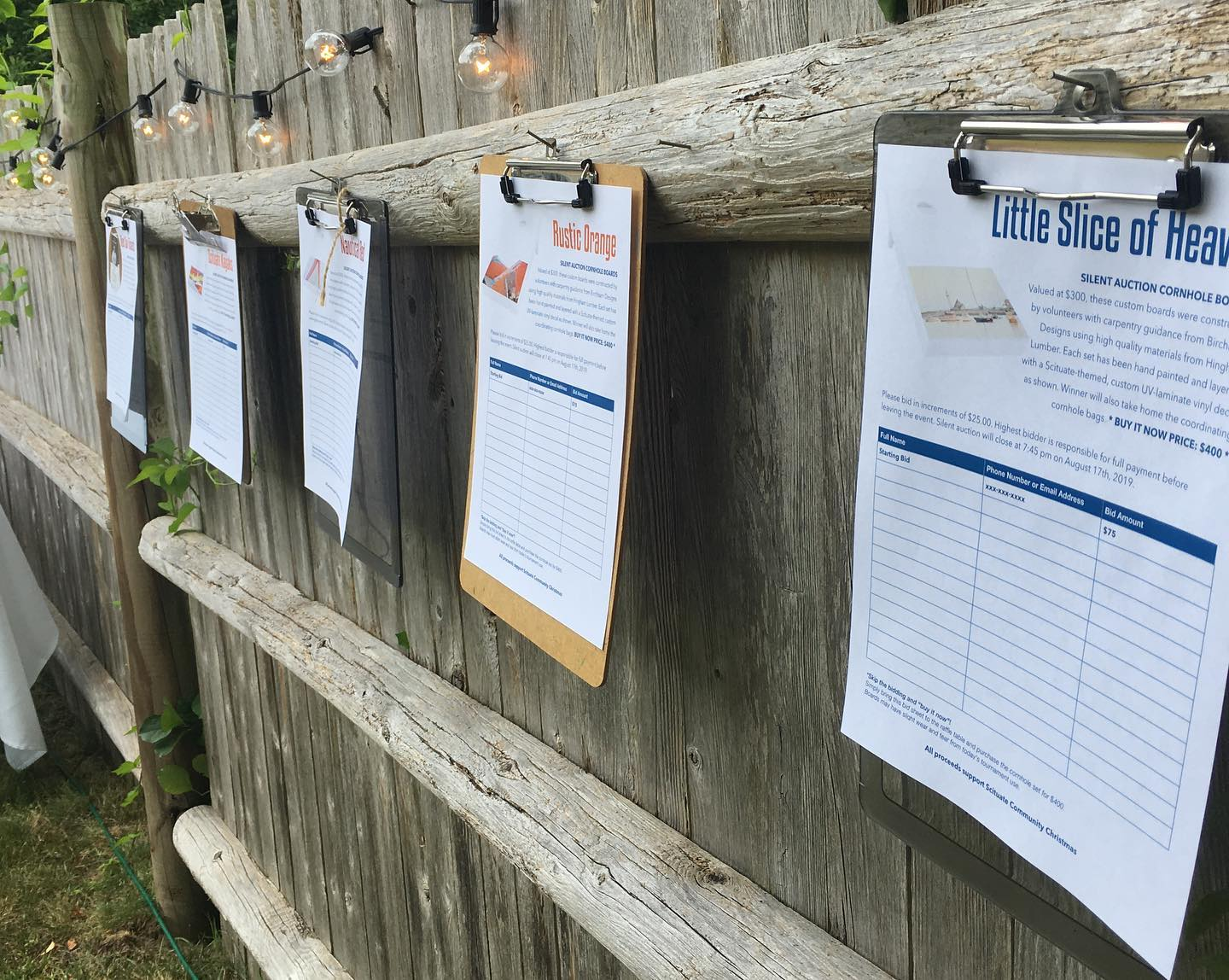 Scituate Community Christmas to hold Cornhole Tournament, Raise Awareness - Wicked Local, July 2019