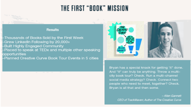 """The First """"Book"""" Mission"""