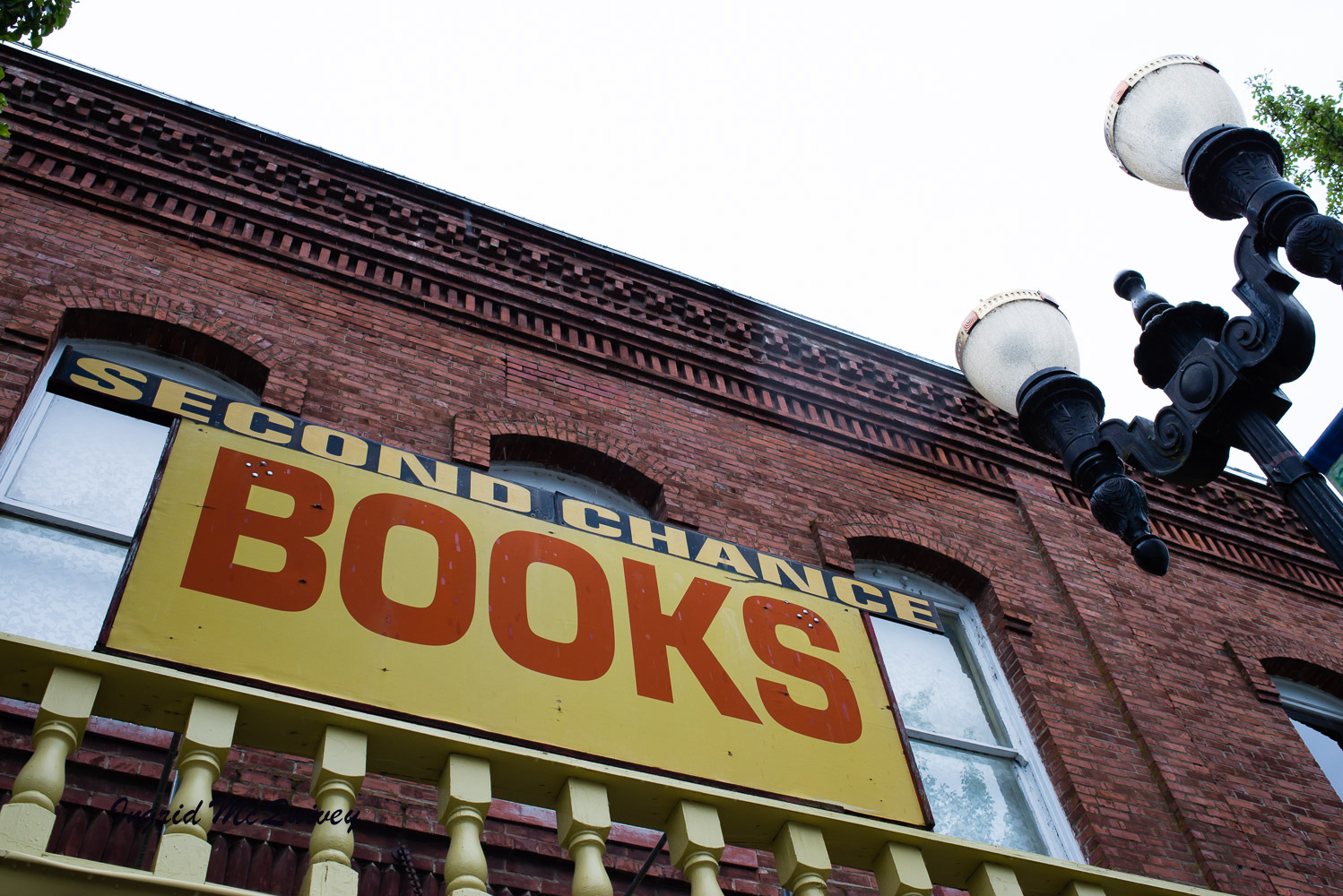 One of my favorite things to do is frequent secondhand book shops and look for photography art books. Second Chance Books was located on Independence, Oregon's, historic main street.